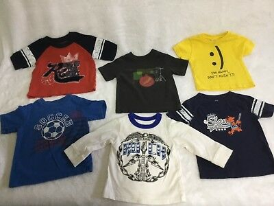 Children's Place/ Old Navy Short-sleeved Graphic T-shirt | Baby Boy | 12 mos