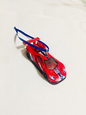 New Ford GT Super Car Christmas Ornament Mirror Hanger Mustang Lemans Raptor RS