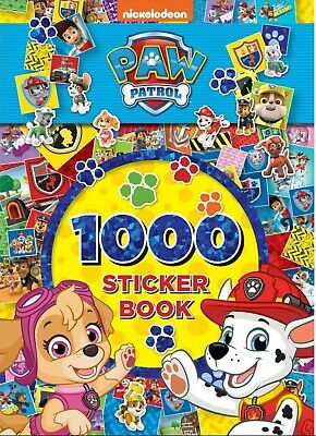 Paw Patrol 1000 Stickers Book Dog Puppy Kids Gift Easter