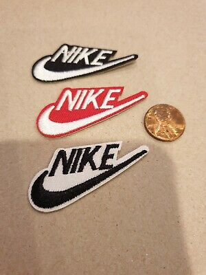 (3) Nike  Logo/ Emblem Embroidered Iron On Patches PATCH LOT
