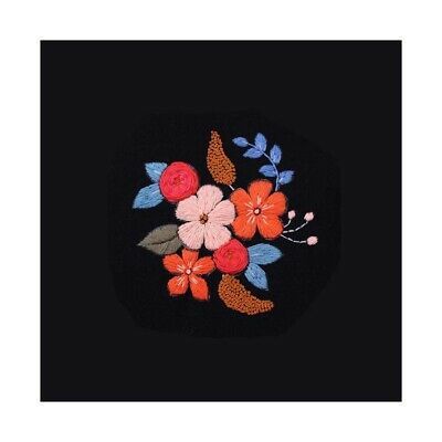 Flower Embroidery Starter Kit with Pattern for Beginners Handmade Crafts