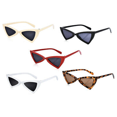 e948fc33f9426 Cat Eye Sunglasses Latest 90s Triangle vintage Grunge Retro pointy Shades
