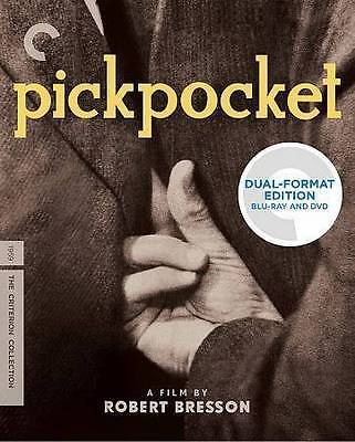 Pickpocket (Blu-ray/DVD, 2014, 2-Disc Set, Criterion Collection)