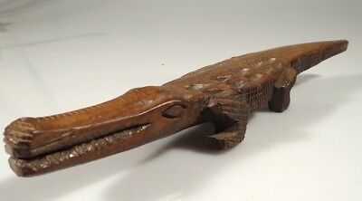 Old Middle Sepik Crocodile Papua New Guinea Hardwood Png