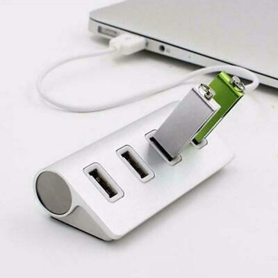 LED High Speed 4 Ports USB 3.0 USB 2.0 Multi HUB Splitter Adapter PC Laptop