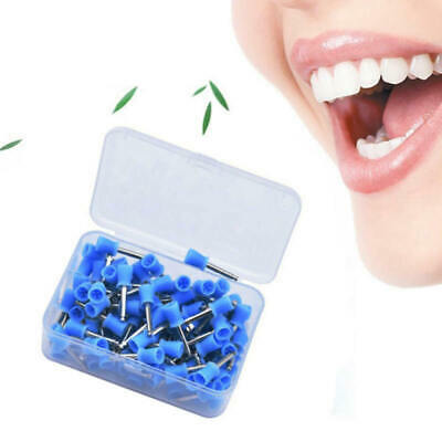 50Pcs Dental Latch Polishing Polisher Prophy Cup for Contra Angle Handpiece esz