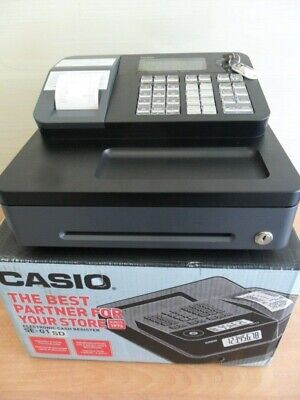 Easy To Use Casio Cash Register Shop Till  & Spare Till Rolls 1Yr Guarantee