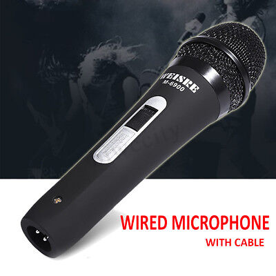 3M Cable Handheld Wired Dynamic Microphone Audio Karaoke KTV Music Mic Singing
