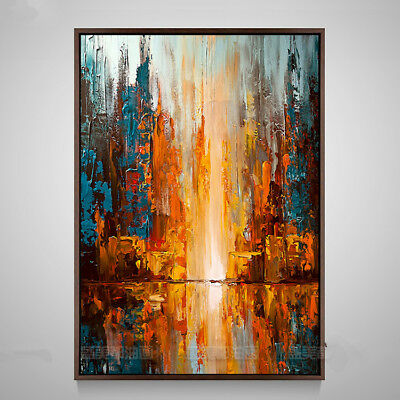 YA205 Modern Home decor 100% Hand-painted abstract art oil painting on canvas