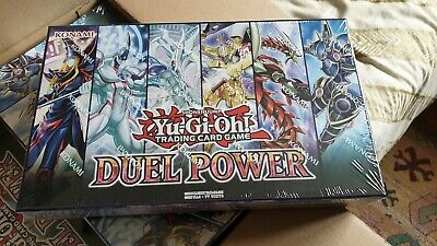 Yu-Gi-Oh! Duel Power Box New Sealed 6 Booster Packs All Ultra Rare TCG YuGiOh