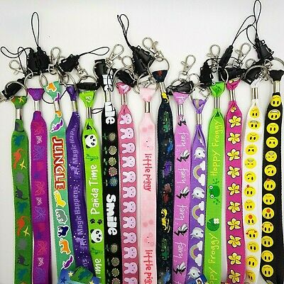 Kids Neck Strap 90cm Lanyard Fairy Unicorn Frog Party Safety Key ID Card Holder