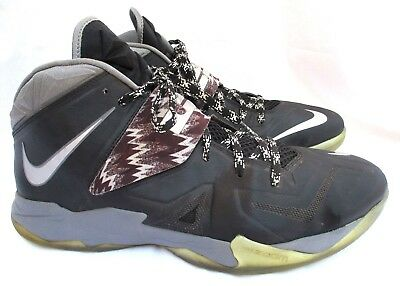 new products 6c555 ddda9 NIKE ZOOM..SOLDIER VII..BLACK   GRAY..SNEAKERS.