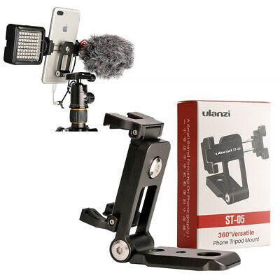 Multifunction Smartphone Mobile Support W Hot Shoe Mount For Microphone Tripod
