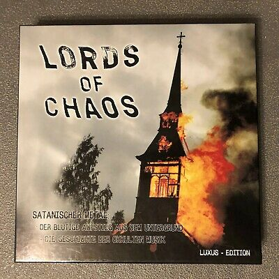 Lords Of Chaos 2CD/book/poster Deluxe Boxed Set NEW Mayhem Bathory Ulver Venom