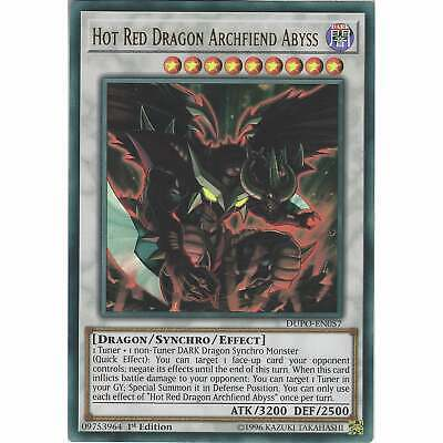 Hot Red Dragon Archfiend Abyss DUPO-EN057 Ultra Rare Card - 1st Edition Yu-Gi-Oh