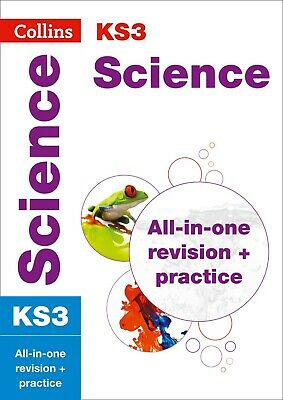 KS3 Science All-in-One Revision and Practice by Collins KS3 NEW Paperback