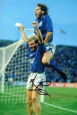 Ally McCOIST SIGNED Autograph 12x8 Photo 1 Glasgow Rangers Legend AFTAL COA
