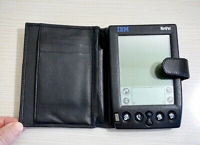 IBM Workpad 8602-20X 3.0 PDA Plus Original Padded Case, Working Condition!