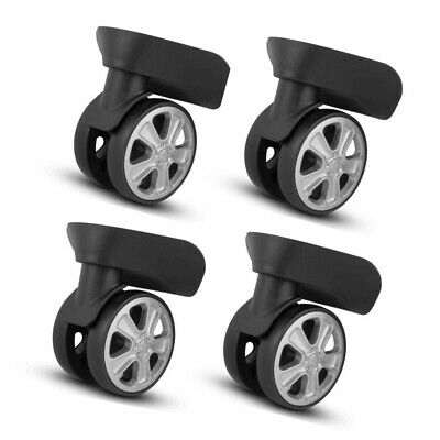4X Luggage Universal 360° Swivel Spare Caster Suitcase Repair Wheels Replacement