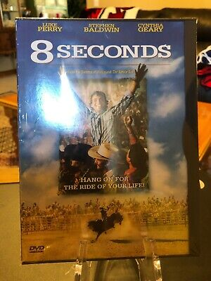 8 Seconds (DVD, 2006) Luke Perry, Cynthia Geary, Stephen Baldwin/Mfg. Sealed