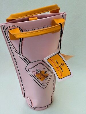 Veuve Clicquot Rose Champagne Bottle Cover Insulated Cooler Shopping Bag