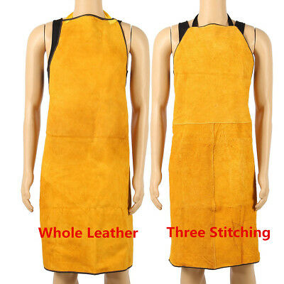 100X70CM Leather Welding Apron Welders Workwear Glaziers Blacksmith