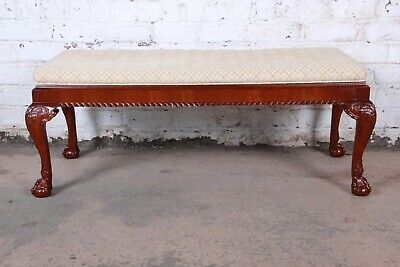 Baker Furniture Stately Homes Irish Baroque Window Bench