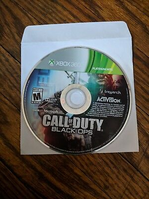 Call of Duty: Black Ops (Microsoft Xbox 360, 2010) - DISC ONLY