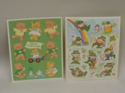 Hallmark St. Patrick's Day Stickers 2 Sheets St. Pat Day
