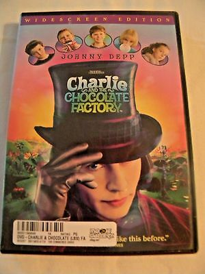 Charlie and the Chocolate Factory (DVD, 2005) Widescreen - Johnny Depp