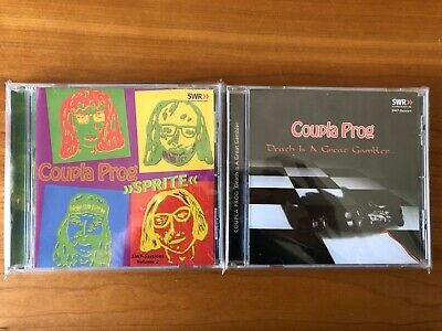 CD Lot - Coupla Prog - Sprite - Death is a Great Gambler... - Great Condition