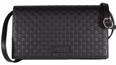 46bce4225ccb1 BRAND NEW GUCCI Guccissima GG Leather Crossbody Wallet Bag Purse ...