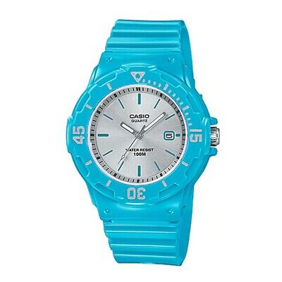 Casio LRW200H-2E3V Women's Blue Resin Band 100M Sports Day Date Analog Watch