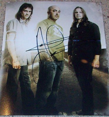 AARON LEWIS STAIND SIGNED AUTOGRAPH 8x10 PHOTO B w/PROOF