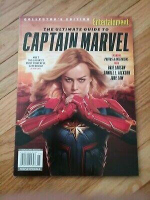 Entertainment Weekly Collector 2019, Ultimate Guide to Captain Marvel,New/Sealed