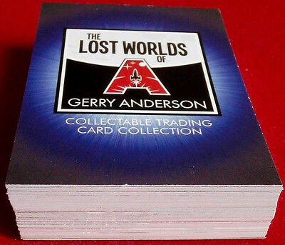 LOST WORLDS of Gerry Anderson, inc. STARCRUISER - COMPLETE BASE SET (54 cards)
