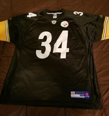 e4316d0d06f NFL Reebok Pittsburgh Steelers 34 Rashard Mendenhall Authentic Sewn Jersey  54