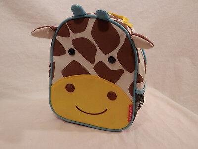 """Skip Hop Zoo toddlers child Safety Harness backpack  Jules Giraffe 9"""""""