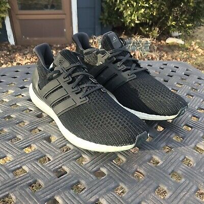 04866397f0c47 MSRP  180 ADIDAS Ultra Boost BB3900 Uncaged Core Black Grey Prime ...