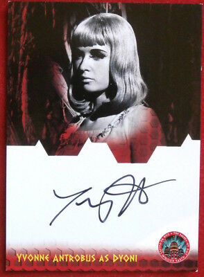 DR WHO AND THE DALEKS - YVONNE ANTROBUS as Dyoni - Autograph Card - Unstoppable