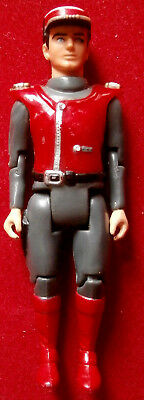 CAPTAIN SCARLET - 4 inches - 1993 - POSEABLE