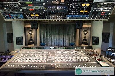 Unique analog song/track/music mixing & mastering service: No plugs, no Plug-Ins