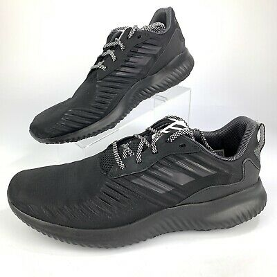 65c0d8adeb976 NEW ADIDAS ALPHABOUNCE RC Running Shoes Men s Black White B42652 ...