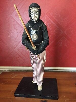 Japanese Samurai Ninja Doll Vintage Warrior