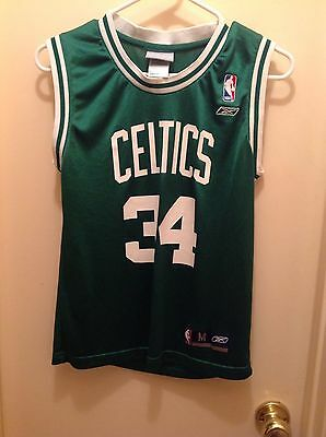 ec244d382a9b9e Paul Pierce Boston Celtics Nba Jersey Reebok Tank Top Boys (M) Basketball  Shirt