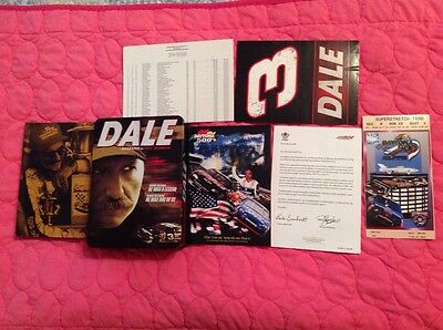 Nascar Dale Earnhardt Dvd 2007 Limited Ed. Documentary & Collectible Tin  Dale