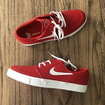 38527af7a54a A1000 NIKE SB Zoom Stefan Janoski Canvas 615957-614 Red Shoes Size 9 ...