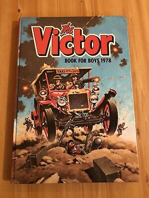 Victor Book for Boys Annual 1978 Birthday Gift Present Vintage Retro