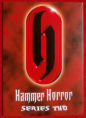 HAMMER HORROR - Series Two - Card #01 - Header Card - Strictly Ink 2010