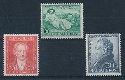 [69597] Germany Allied Occ. Britisch & American zone 1949 Goethe  MNH